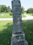 Schwer gravestone