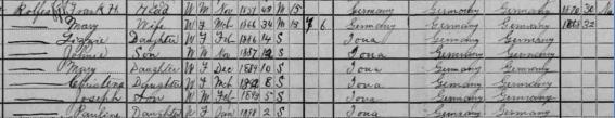 Rolfes Census