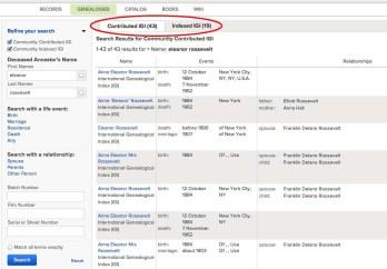IGI search result